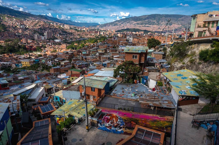 Comuna 13, once a dangerous area, is now a great place to learn about Medellín's history.