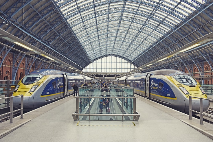 You can save up to 30 percent on first-class fares on the Eurostar train if you book by August 6.