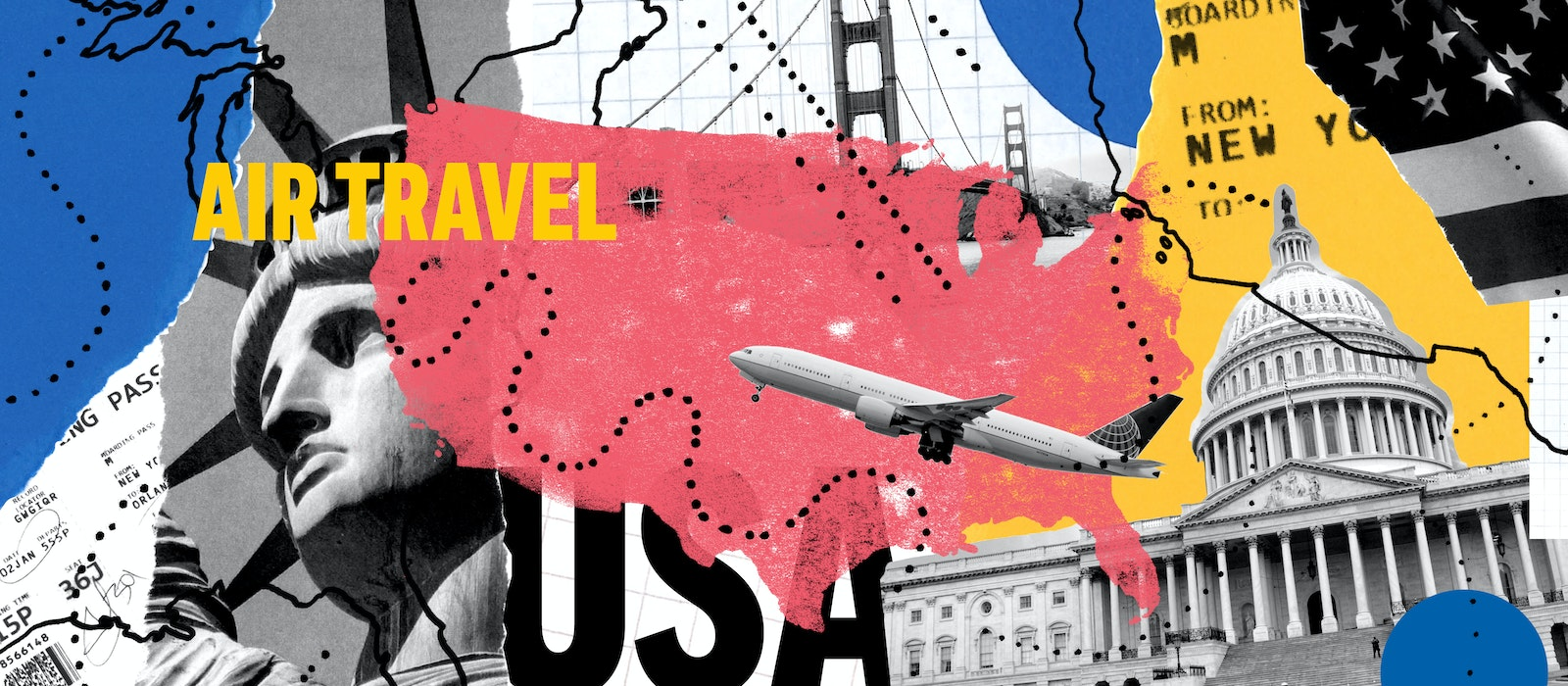 Americans are primarily domestic travelers, but where they choose to go in the United States ranges considerably.