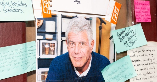 Anthony Bourdain Auction to Fund a New Study Abroad Scholarship