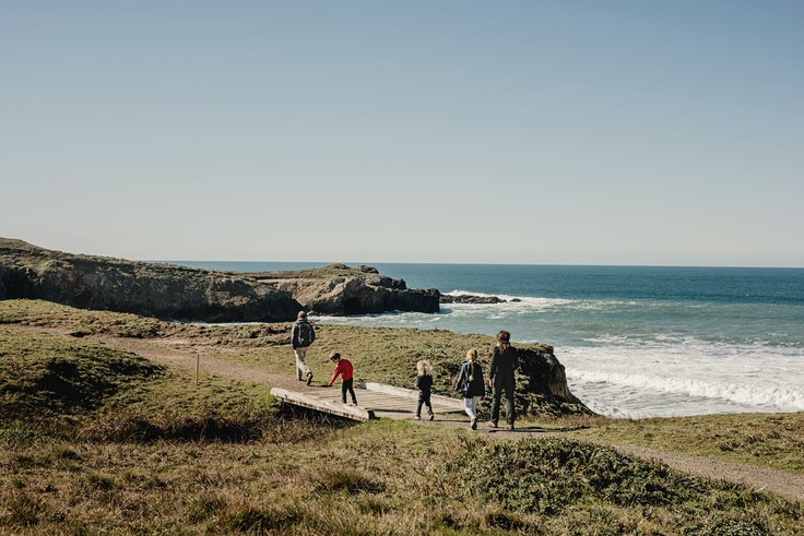 Mendocino County, where writer Chris Colin and his family traveled, sits on the coast just over 150 miles north of San Francisco.