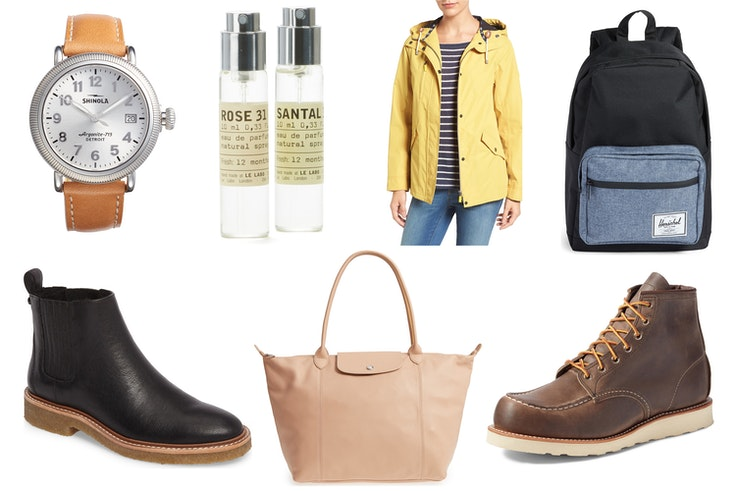 You can save hundreds of dollars on brands like Barbour, Shinola, Le Labo, and more.