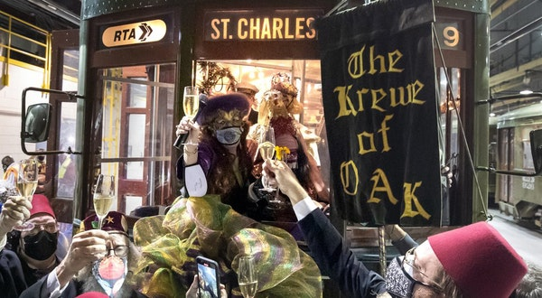 What a Pandemic-Era Mardi Gras Looks Like in New Orleans