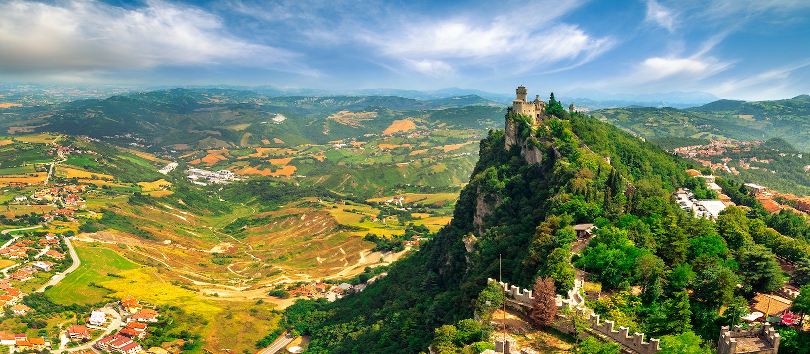 The micronation of San Marino was the fastest growing destination in Europe last year.