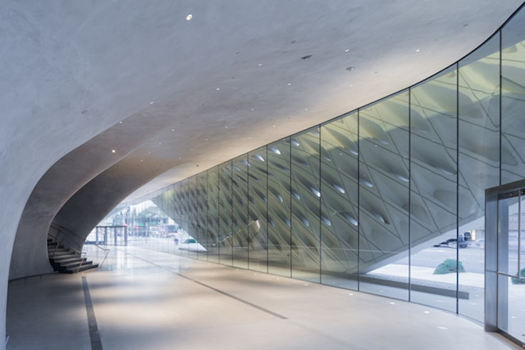 Los Angeles' newest museum, the Broad