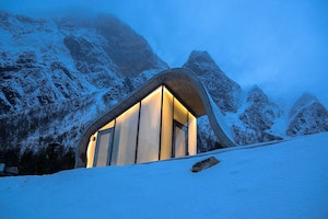 Norway Opens the World's Most Scenic Public Restroom