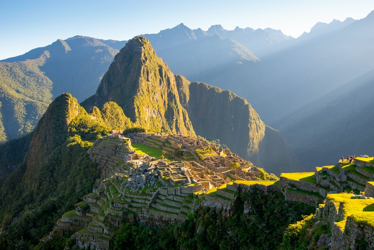 Land is being cleared in Peru's Sacred Valley to construct an international airport near Machu Picchu.