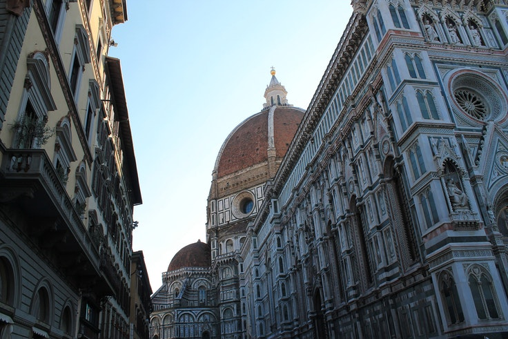 The snacking ban is limited to Florence's historic city center.
