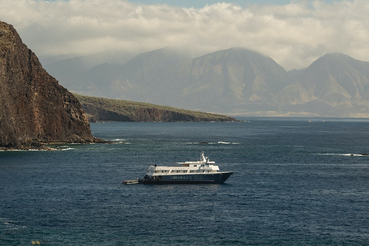 Small-ship line UnCruise Adventures offers weeklong itineraries in Hawaii, cruising round-trip from the island of Molokai.