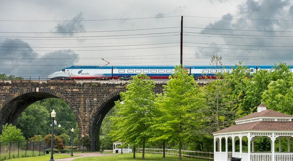Amtrak's New High-Speed Trains Will Offer a More Sustainable Option for Traveling In the Northeast