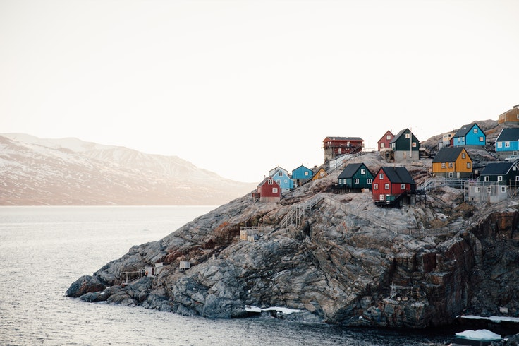 You can only reach picturesque Uummannaq by helicopter—but it's worth the trip.