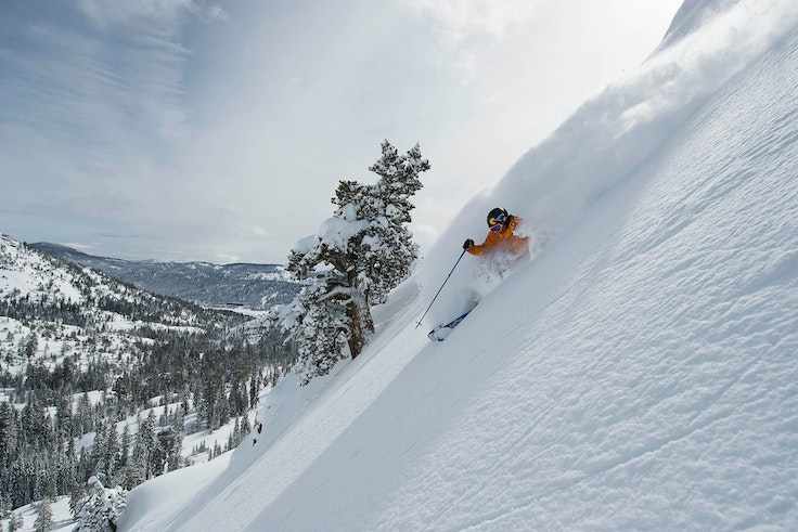 The 1960 Winter Olympics were held at Squaw Valley Alpine Meadows and the resort continues to be a favorite of ski enthusiasts from all over.
