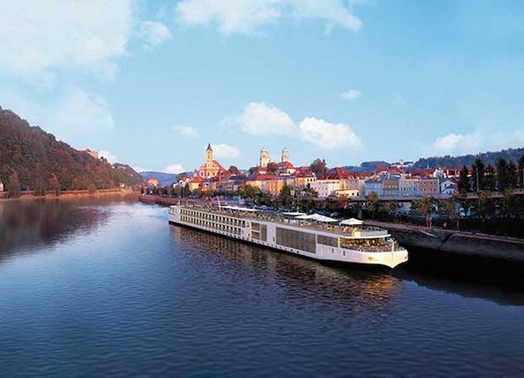 Viking River Cruises' loyalty program offers a generous on-board credit for each person referred.