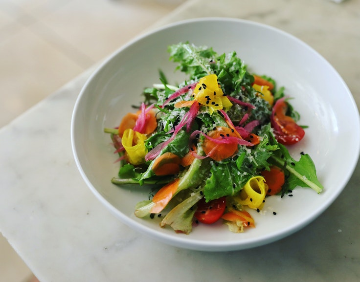 A fresh, seasonal salad from Verde Mesa