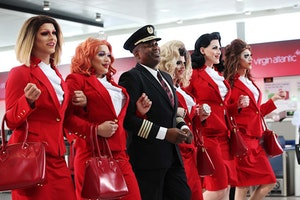 Virgin Atlantic Announces First-Ever Pride Flight With All LGBTQ Crew