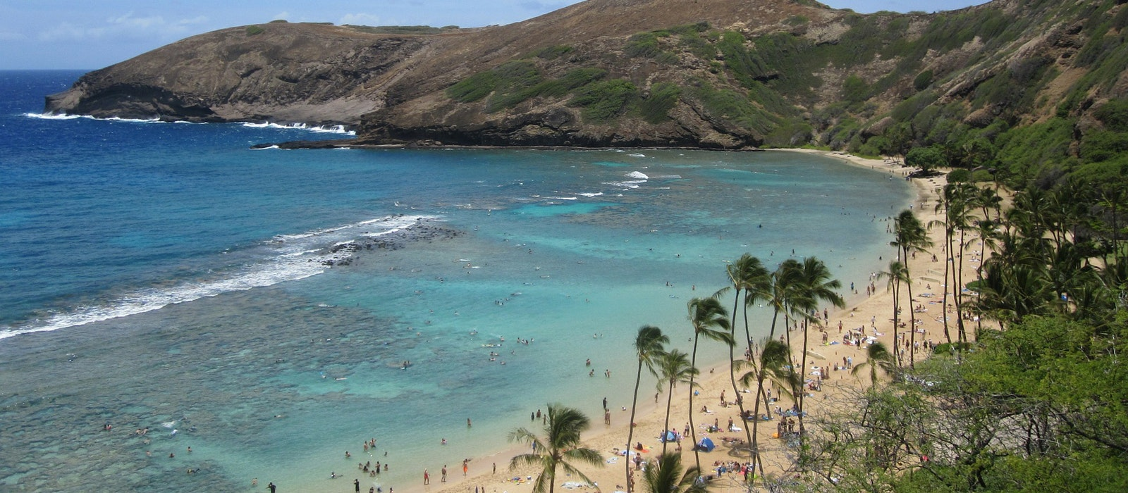 Once the exclusive playground of Hawaiian royalty, Oahu's Hanauma Bay became a protected marine conservation area and underwater park in 1967.