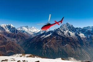 This Helicopter Tour of the Himalayas Goes Above and Beyond