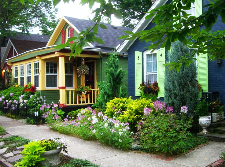 Many of the charming homes in Allentown date back to the mid-1800s.