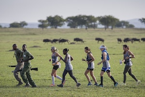 These Fearless Women Ran 55 Miles Through Lion Territory in Africa