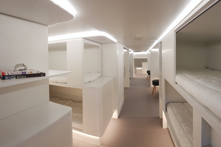Airbus says it could deliver the new lower deck cabins as soon as 2021, if airlines are interested.
