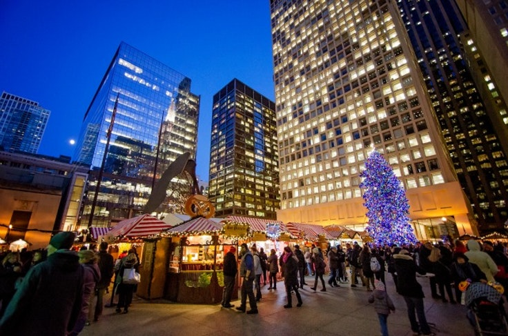 chicago this week christmas market lights galore - Chicago Christmas Market