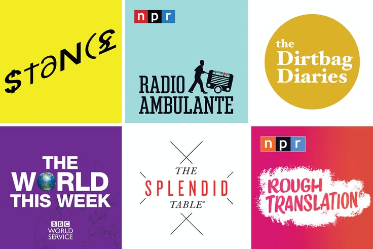 A selection of our favorite podcasts to listen to on your next long-haul flight or to get you jazzed for upcoming trips.