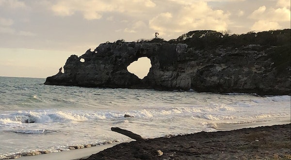 Puerto Rico's Punta Ventana Rock Formation Destroyed by Quake
