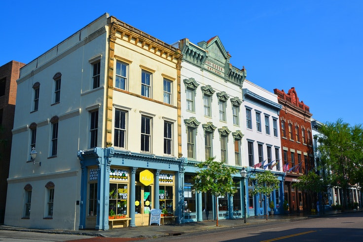 Charleston's King Street is one of the most popular places to pick up local souvenirs.
