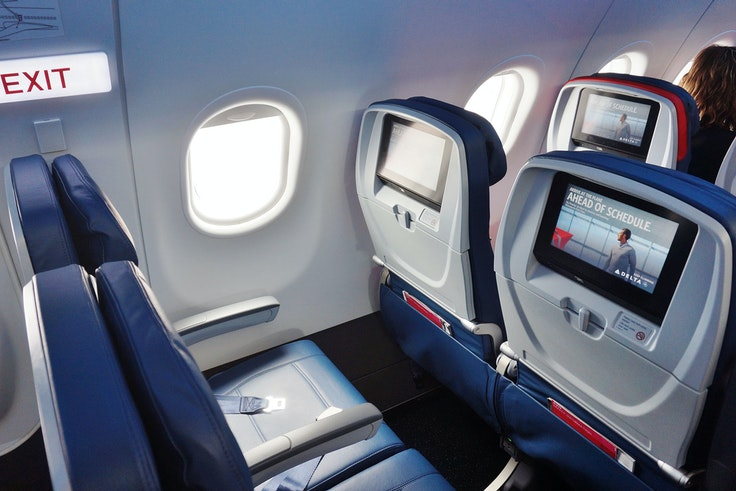 Seat recline on Delta's A320 planes is being cut drastically.