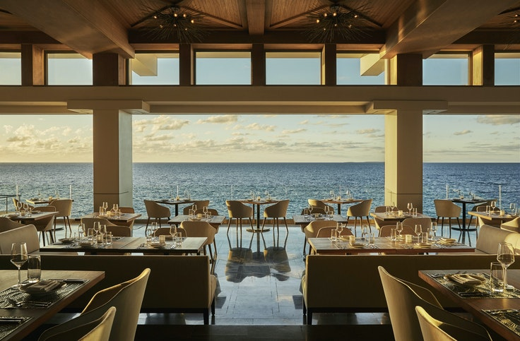 Four Seasons Anguilla closed after a hit from Hurricane Irma in September 2017, but was back in business in March, showcasing renovations to its Coba Restaurant.