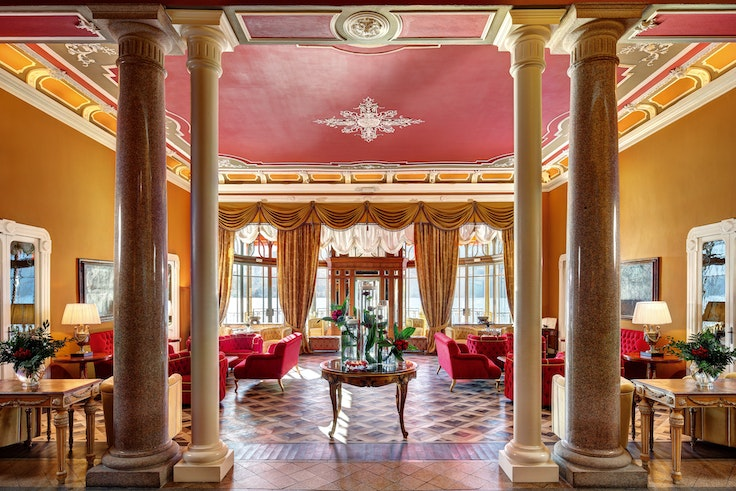 In the early 1900s, the glitzy Grand Hotel Tremezzo was a retreat for royalty from around the world.
