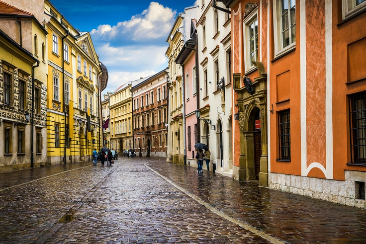 Poland is a popular destination for heritage travel.