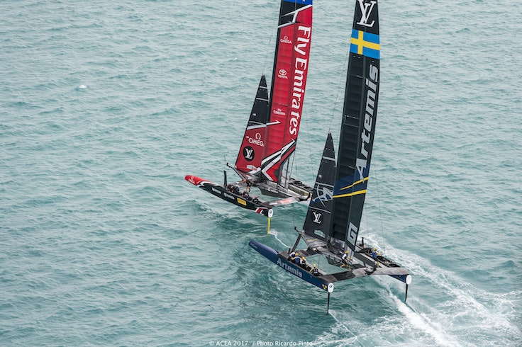 35th America's Cup Bermuda 2017, Louis Vuitton America's Cup Challenger Playoffs Finals, Day2