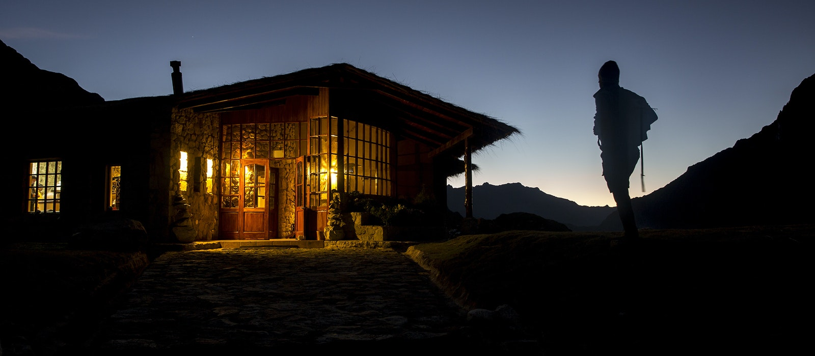 On the Salkantay Trek with Mountain Lodges of Peru, you end your daily adventures in the Andes at a gorgeous lodge.