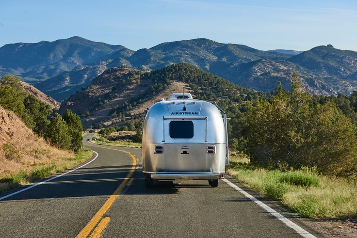 Vanlife isn't restricted to vans—lovers of Airstreams and teardrop trailers enjoy a similar lifestyle.