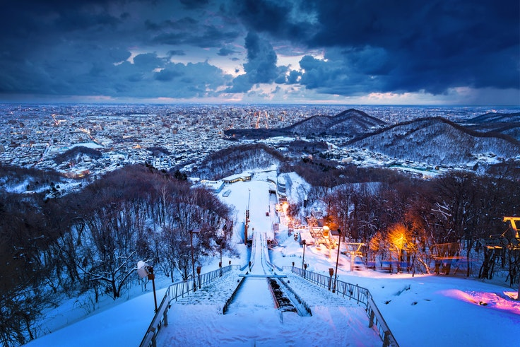Hokkaido is a popular ski destination, but there are plenty of other ways to enjoy the snow.