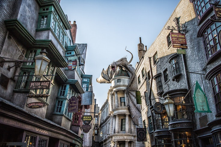 Diagon Alley as seen at Universal Studios Florida