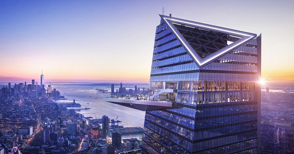 "Everything You Need to Know About New York's ""Edge"" Hudson Yards Observation Deck"