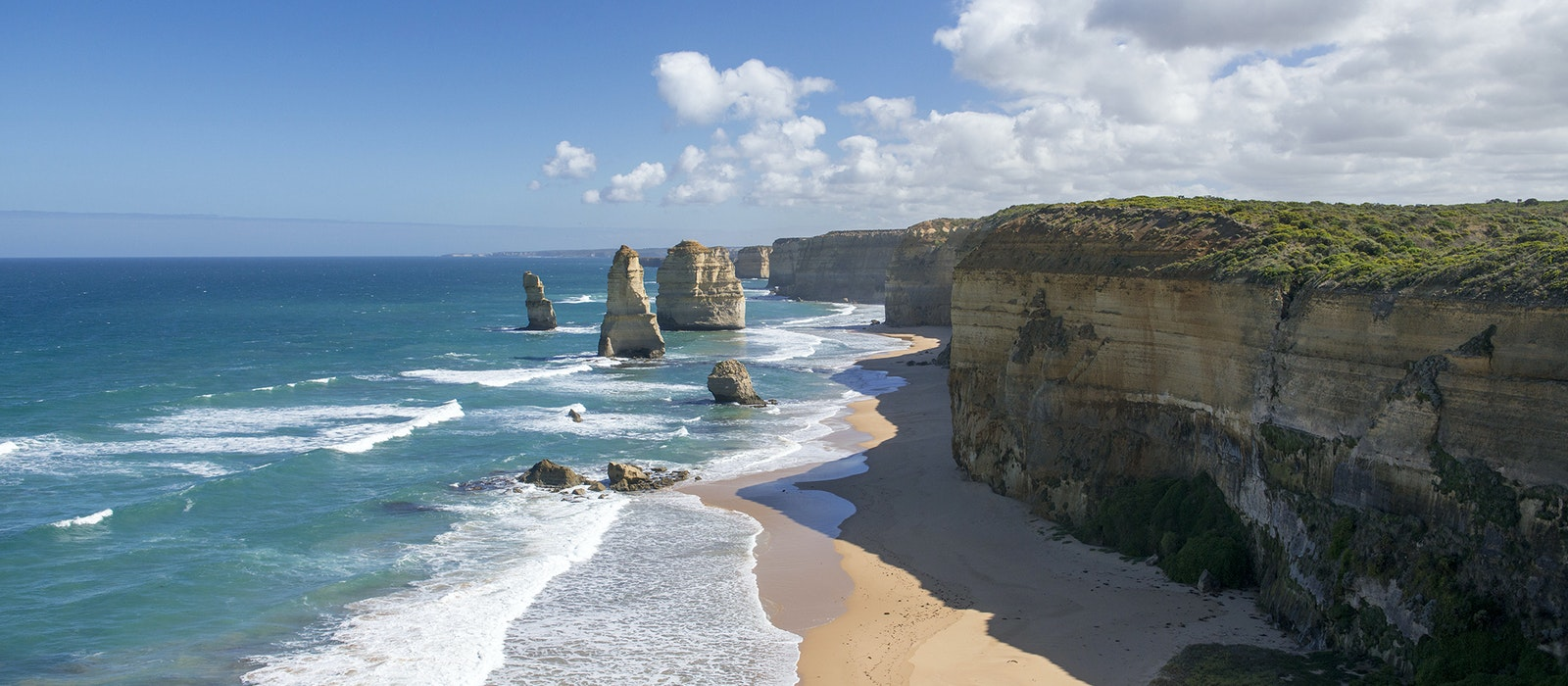 The Twelve Apostles is one of the many memorable sights you'll see on Australia's Great Ocean Road.