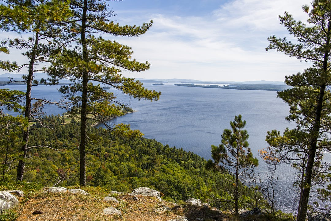 Vast and quiet, Moosehead Lake is the perfect place to get away from it all.
