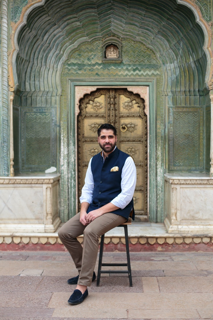 As a ninth-generation heir to Jaipur's Gem Palace, Samir Andrea Kasliwal is responsible for maintaining ties with the royal family—and with a more contemporary clientele (hi, Oprah).