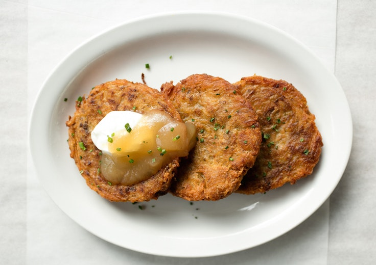 Now that's what we call latkes.