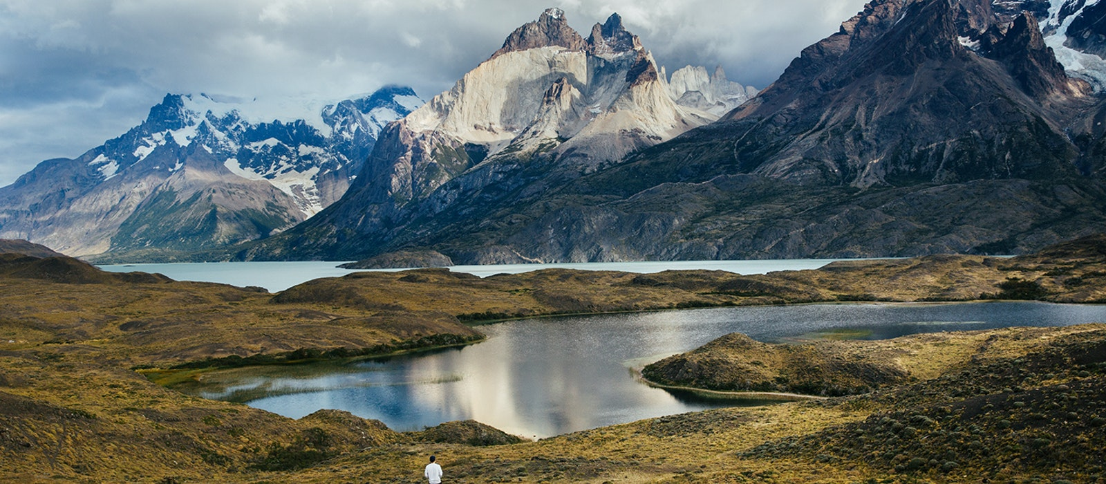 A view like this is in store for adventurers willing to make the trek to Torres del Paine National Park in Chile.