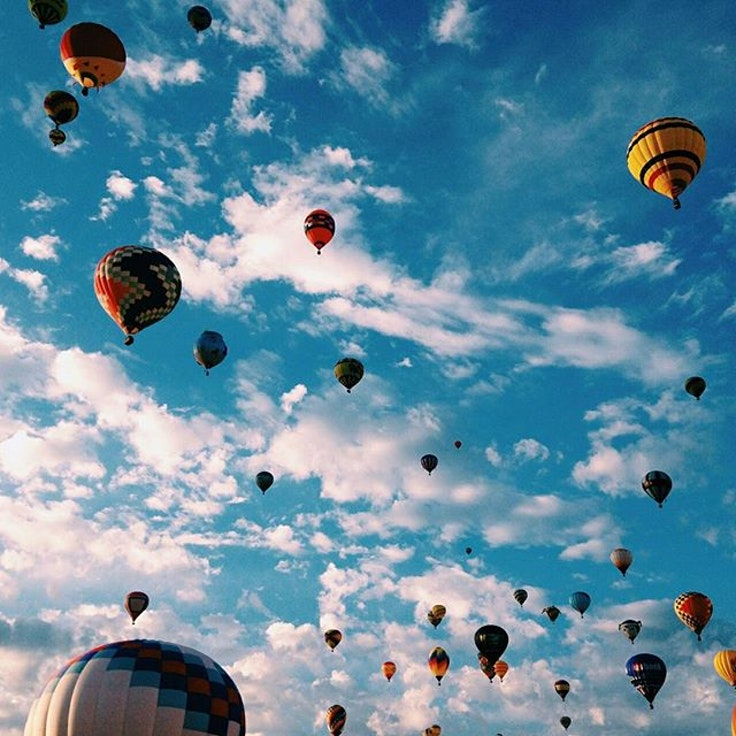 The sky's the limit at the Albuquerque International Balloon Fiesta