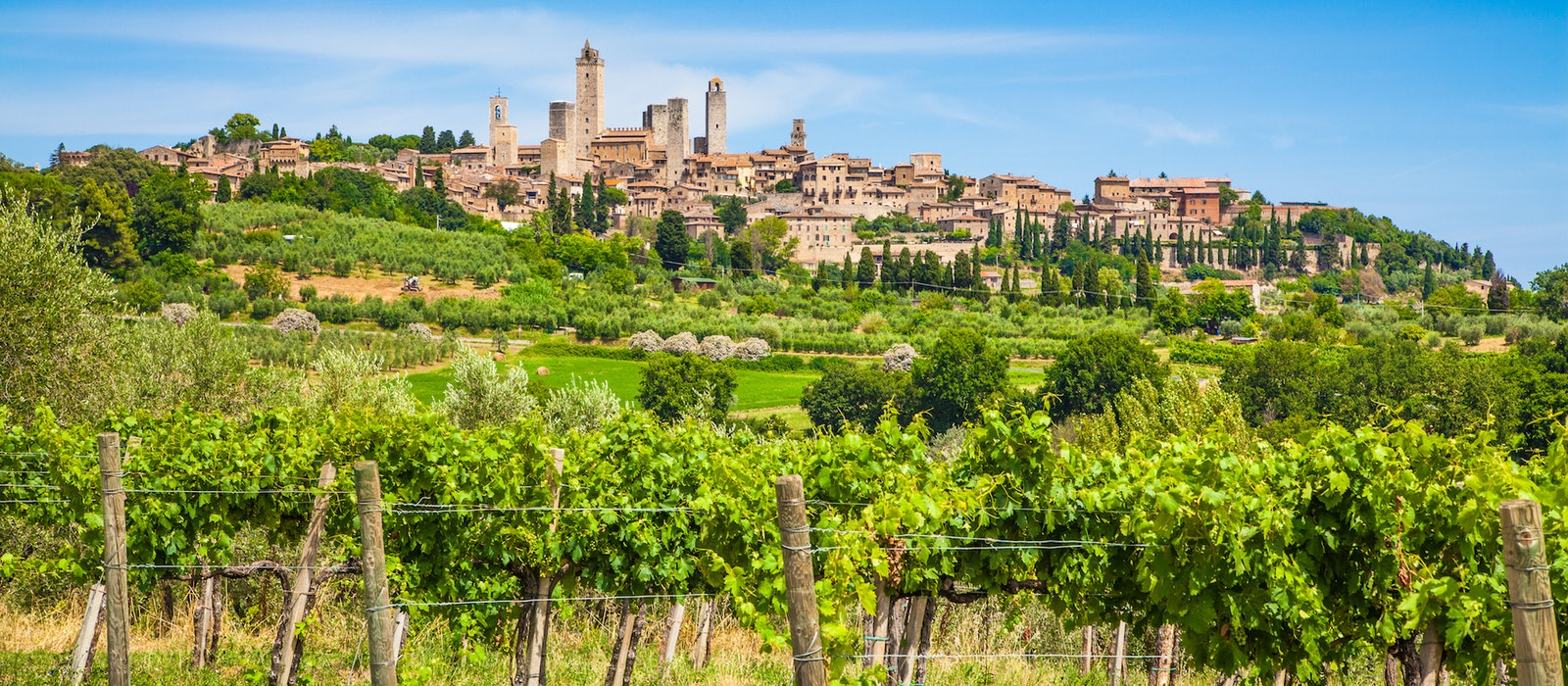 """UNESCO considers the historic center of San Gimignano, a 13th-century hilltop town in Tuscany, to be a """"cultural site of exceptional value"""" due to its well-preserved medieval architecture."""