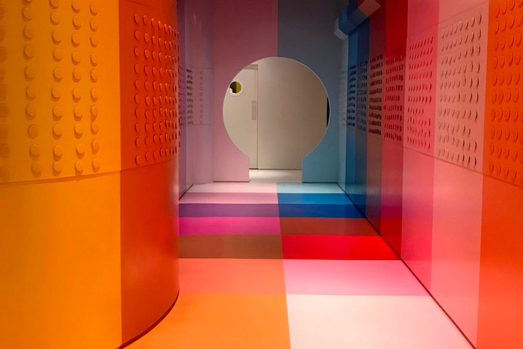 One of the 16 installations at Color Factory's New York Pop-Up.