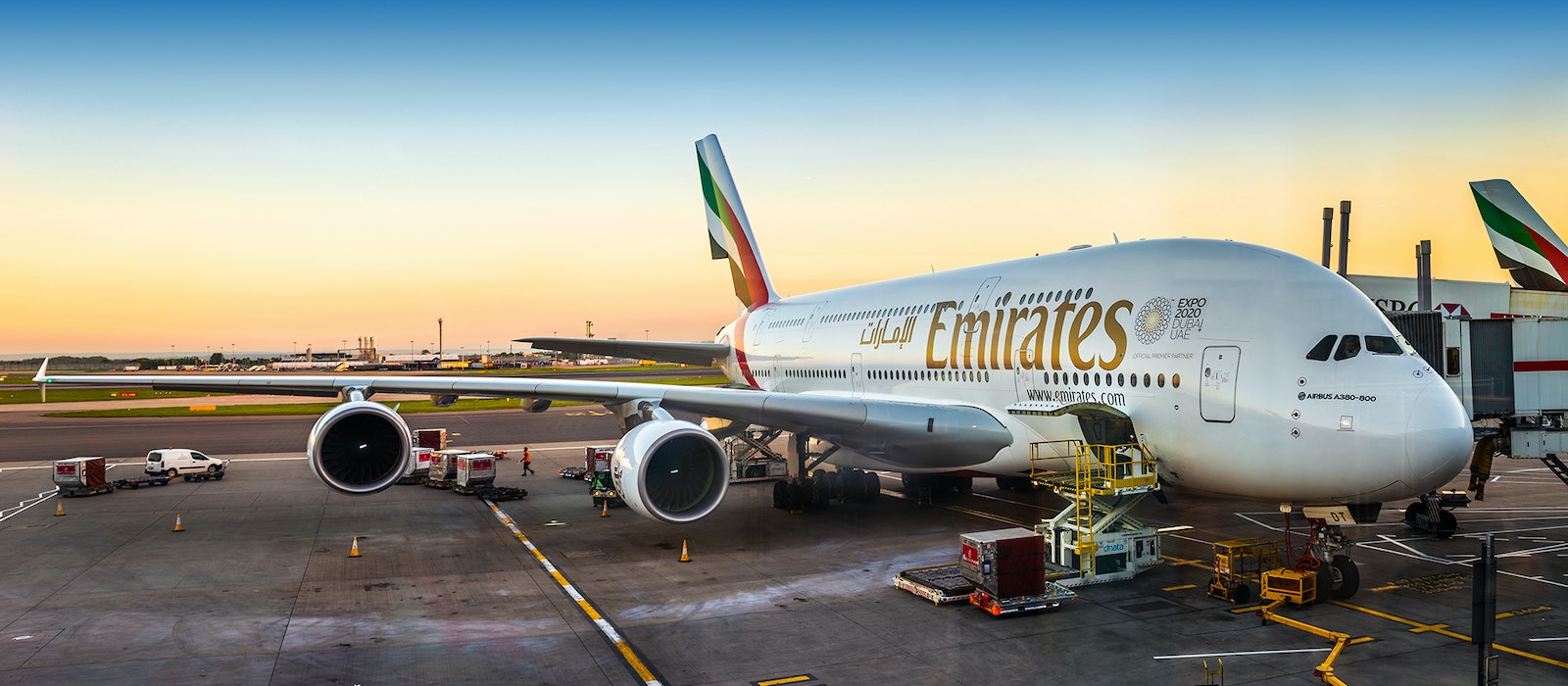 Emirates is offering two-for-one fares in economy, business, and first class right now.