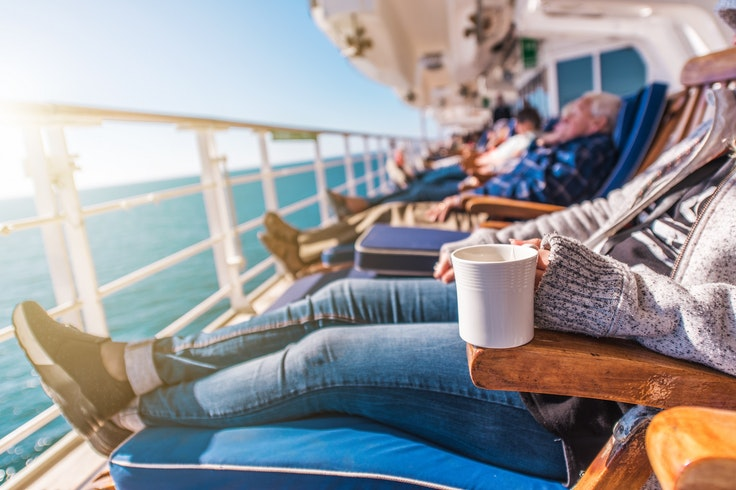 One tip for a successful mother-daughter cruise? Don't spend every waking minute together.