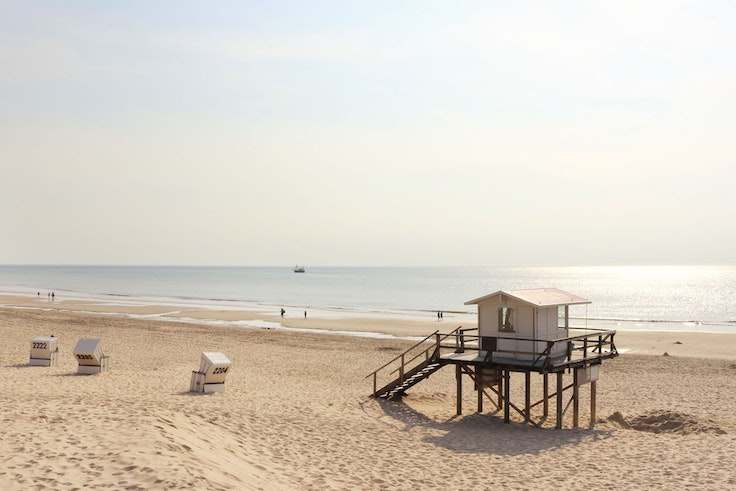 You may be surprised to learn that this dreamy beach is in Germany.