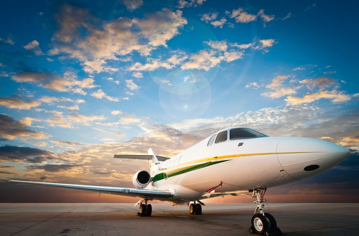 Get to your cruise in style—on a private jet.